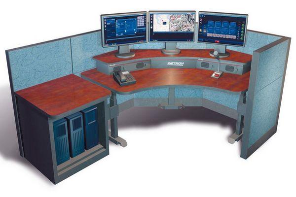 Модульная мебель Операторская консоль Диспетчерская система