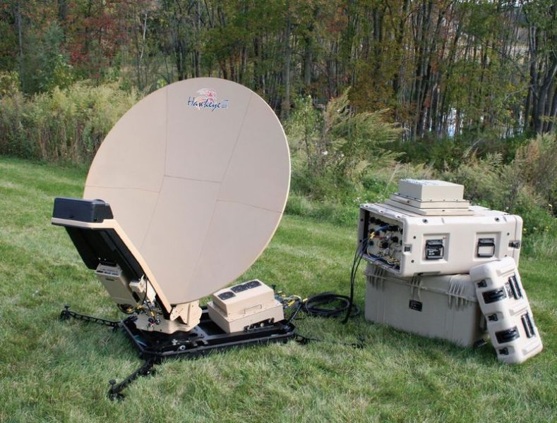 GCS Rugged Case Modem VSAT Communication