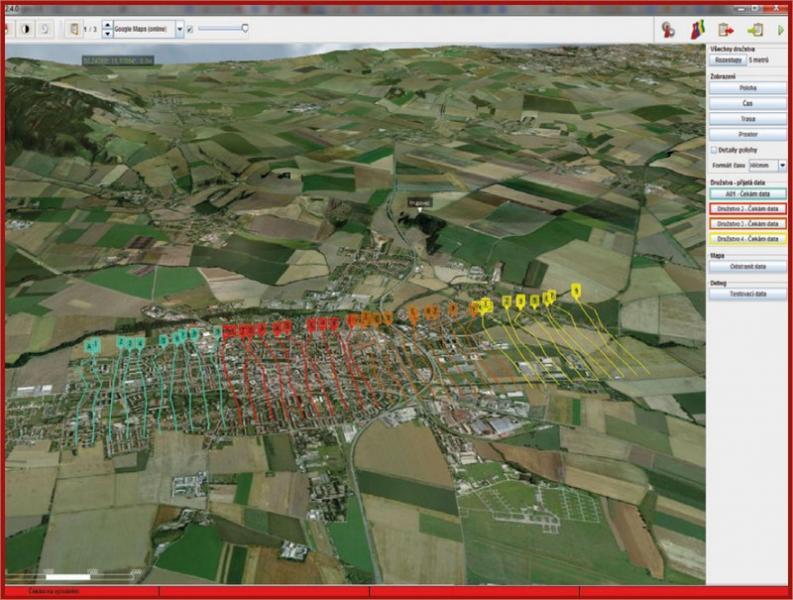 GEO3D Визуализация слои высот