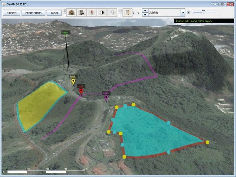 GEO3D Географическая визуализация Инструменты