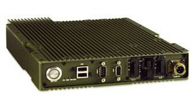 "19""/2 ruggedized CryptoPhone IP server for mobile deployment"