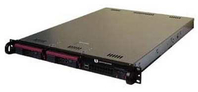 "19"" rack-mounted CryptoPhone IP server"