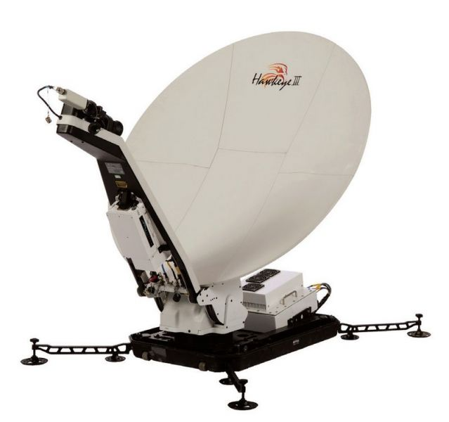 VSAT Tri-Band Data Communication Terminal