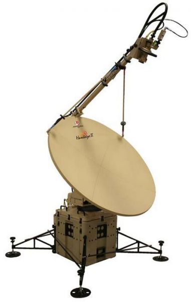 The Hawkeye III VSAT System for Rapid Deployment of Voice