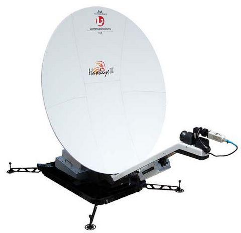 Система Hawkeye III Lite 1.2M VSAT Спутниковый Терминал