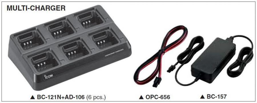 IC-F16/S - Multi Charger