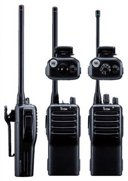 VHF Analog Radio - IC-F16/S - Constructions