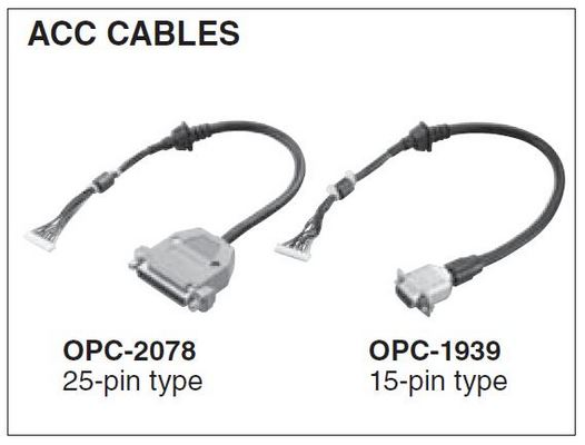 VHF - UHF - ACC Cables