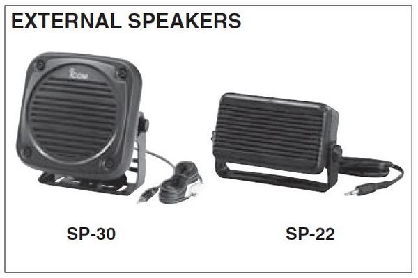 VHF - UHF - External Speakers