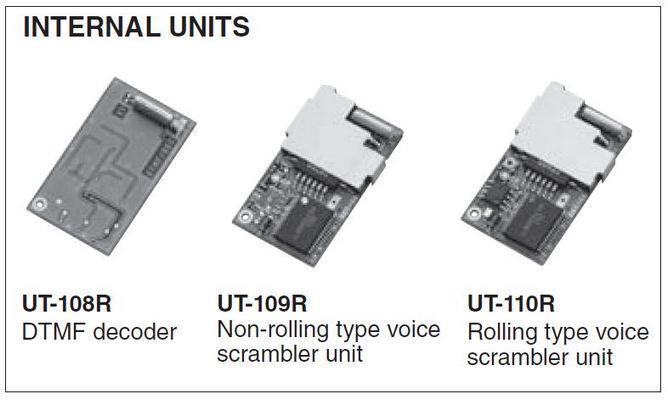 VHF - IC-F5013/H - Internal Units