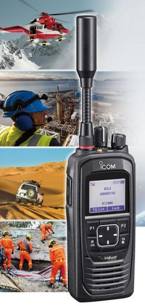 IC-SAT100 - Satellite PTT Radio