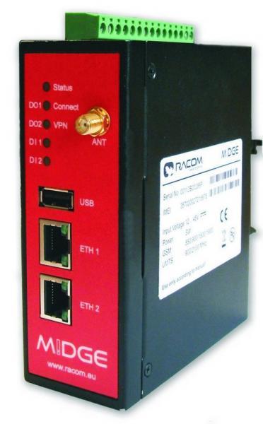 M!DGE Cellular Router