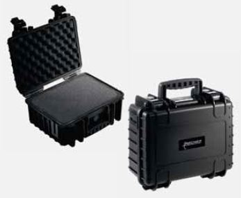 Shockproof case with supports