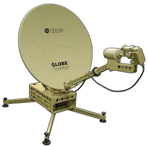 VSAT - Globe Trekker - Satellite