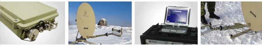 Rover - VSAT - Terminal - Satellite