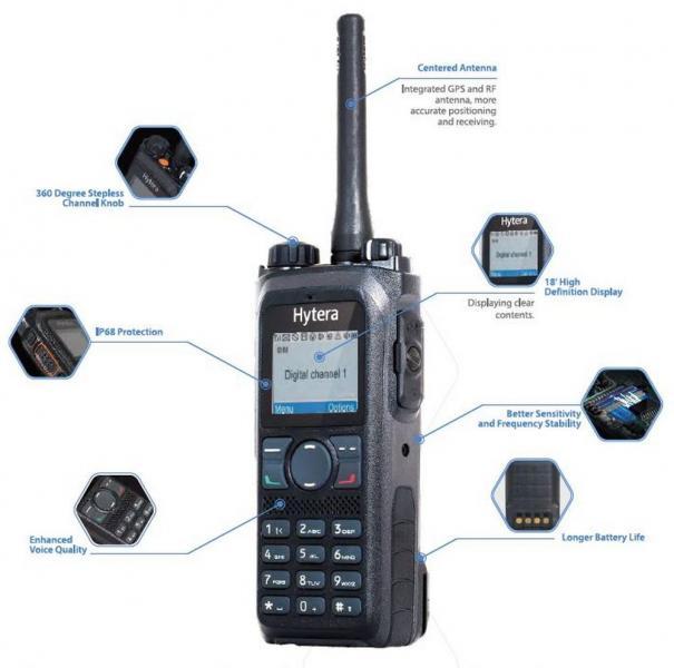 PD985 DMR Radio Highlightes