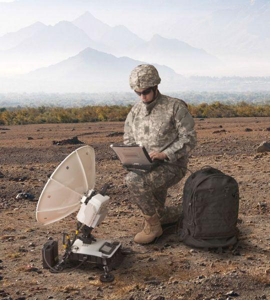 VSAT Передача Данных Спутниковый Портативный Терминал