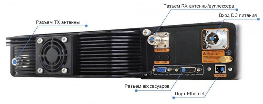 RD98XS Мощный цифровой репитер