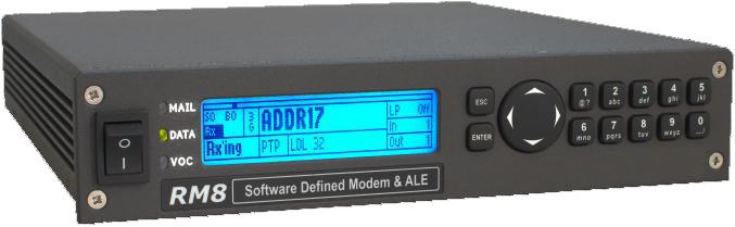 RM8 3G ALE HF Modem