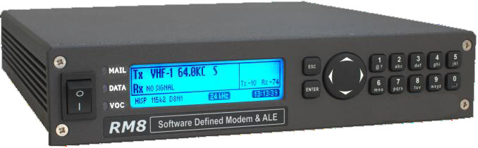 RM8 Software Defined Modem UHF VHF