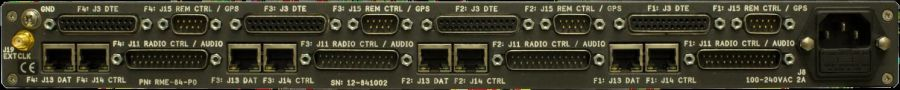 RM8X4 Quad Software Defined High Speed Data Modem Ports