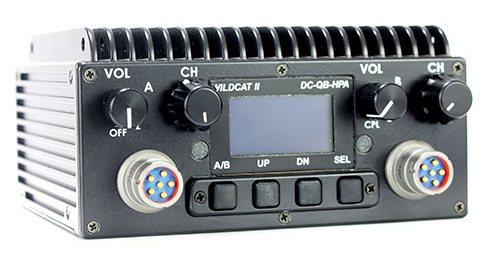 TW-130 WildCat II Tactical MANET Radio Military Mission Radio