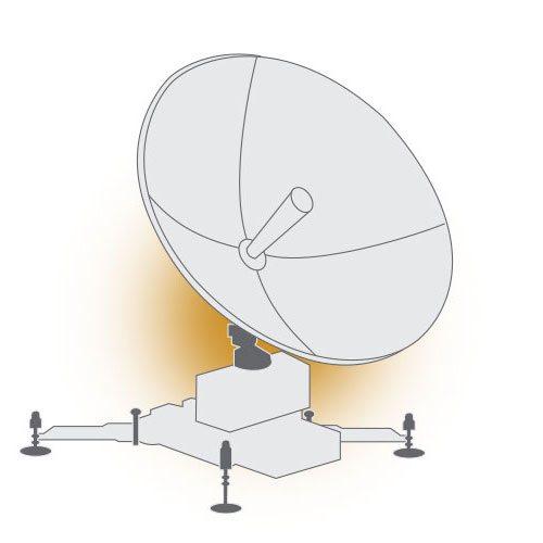 TrellisWare TW-400 CUB - VSAT Terminal