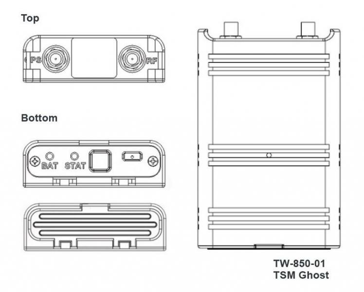 TrellisWare TW-850-Ghost Specification