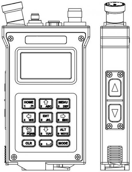 TrellisWare TW-950 Shadow Radio Specifications